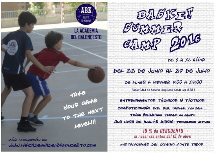 Basket Sumer Camp 2016