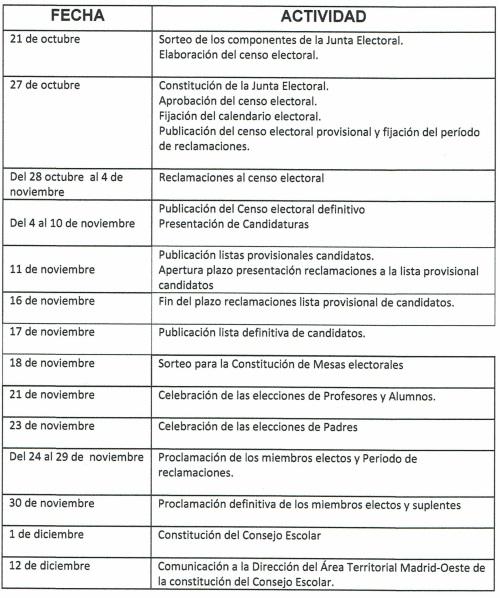 calendario-elecciones-consejo-escolar-2016