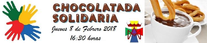 Banner merienda solidaria manos unidas chocolatada